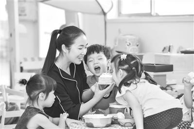 朝晖幼儿园班主任刘丹