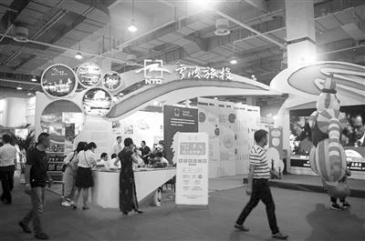 宁波旅投展馆,科技感十足