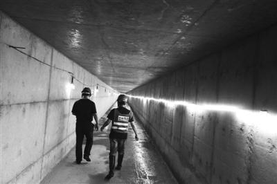 中兴大道综合管廊的许多地下隧道主体工程已完成。蒋文广 摄