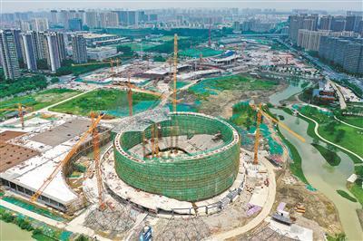 亚运公园工程过半 建成后将成为杭城最大期货开户 公园