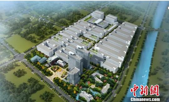 图为:路桥香港青年产业园项目效果图。路桥区委宣传部提供