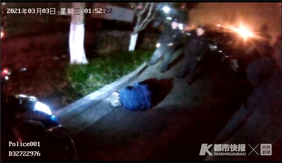杭州101岁老人凌晨倒在路边 家属以为老人在睡觉