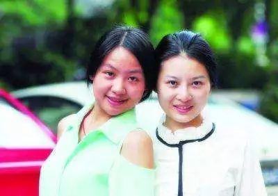"""""""天仙姐妹""""刘静玉和杨雅舒"""