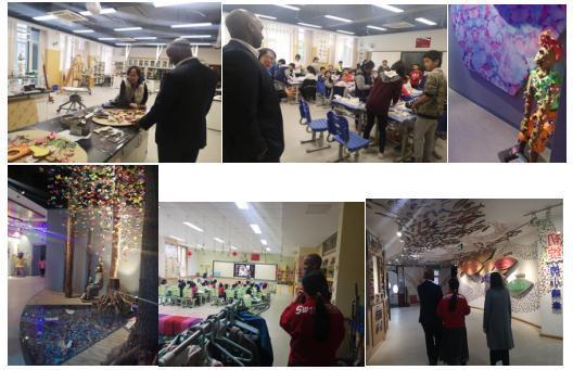 美国顶级私校 福塞克斯走读学校 国际处负责人到访北京亦庄实验小学