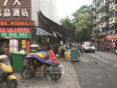 集市街街景
