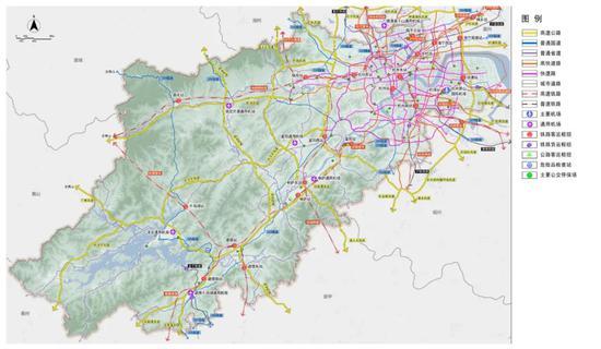 杭州规划建设五大铁路枢纽系统 31条跨江通道