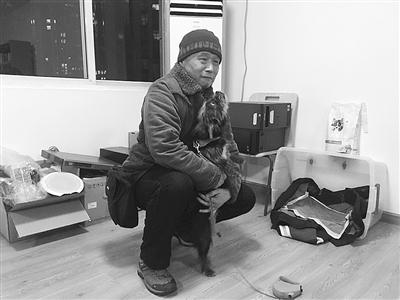 杭州消防员救起的狗坚强回家了 主人通过媒体找到它