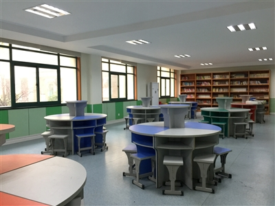 明亮宽敞的托管教室