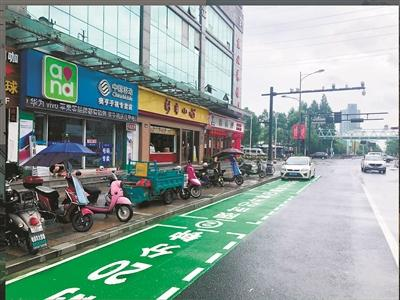 钱塘新区推出首批8处绿色泊位 集中在公厕药店等周边