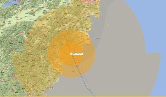 关注 第4号台风黑格比登陆温州乐清最大风力到13级