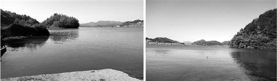静谧的天溪湖。
