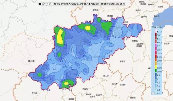杭州市气象台也在15时31分发布了暴雨黄色预警,提醒市民注意防范。