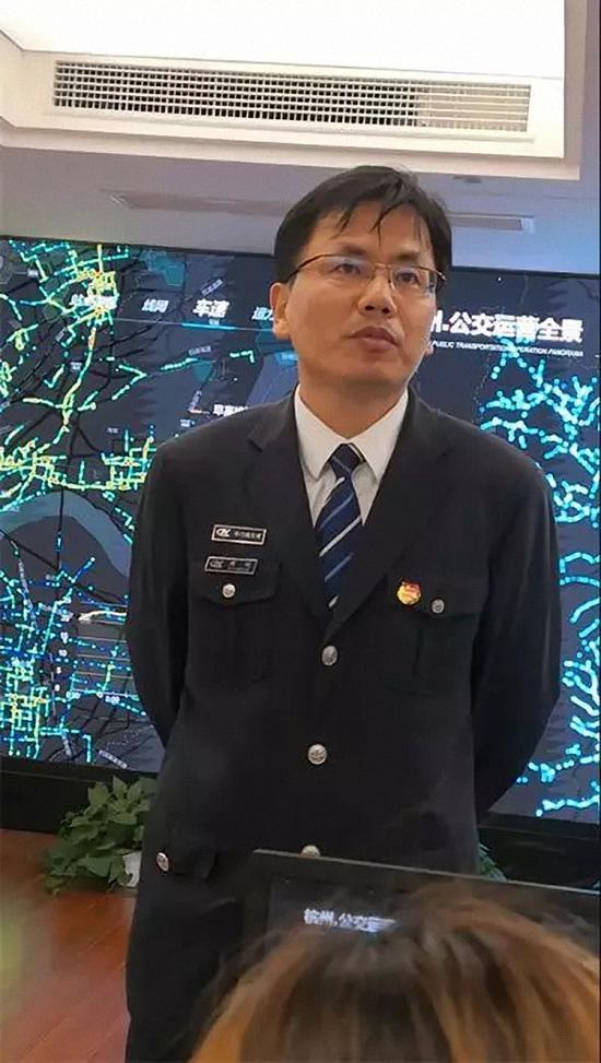 杭州公交集团安全生产部副经理周明