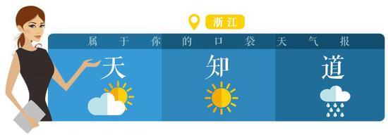 除了浙北地区早晨的雾气以及天上飘的几朵云,昨天的天气算很优秀了。