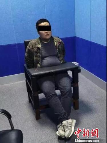 犯罪嫌疑人王某被警方抓获。嘉兴公安提供