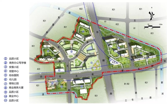 发展目标:武林新城健康中心。