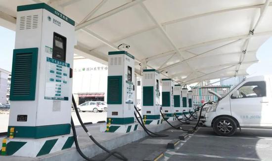 滨江农贸市场新能源汽车充电站