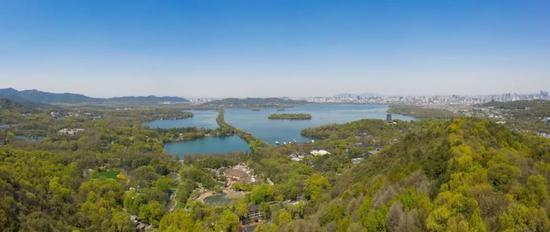 免费看西湖全景远眺钱塘江 杭州几处绝佳位置别错过