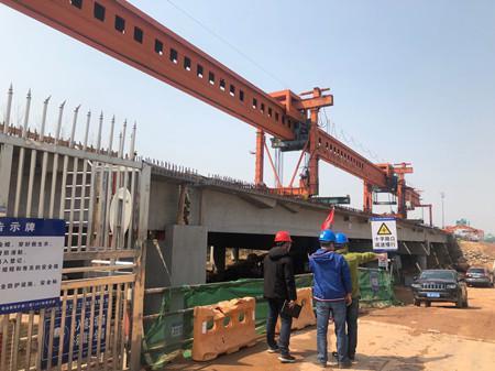 图为杭金衢改扩建二期工程现场。周越 摄