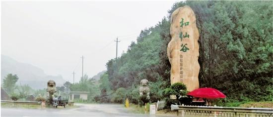 位于富阳的和仙谷农庄杂草丛生,显得很萧条。