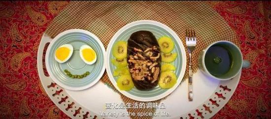 美味的早餐让宋老师生活增添乐趣,也让宋老师的家人感到幸福。