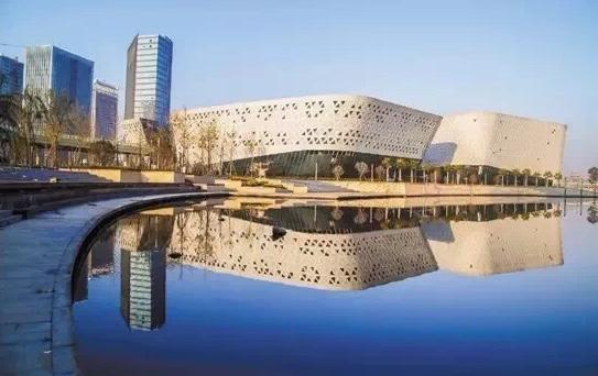 位于慈溪市的环杭州湾创新中心。浙江省科技厅供图