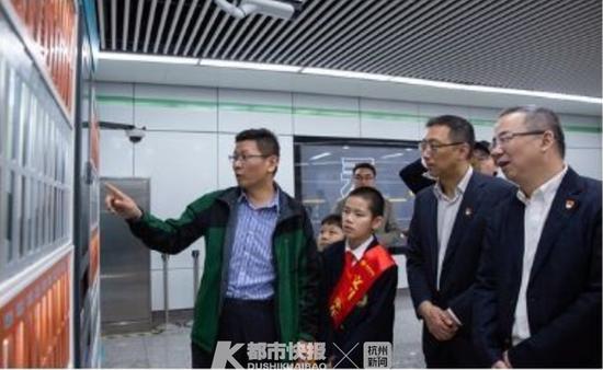 杭州地铁有了5个智能书房 你去这里看过书借过书吗