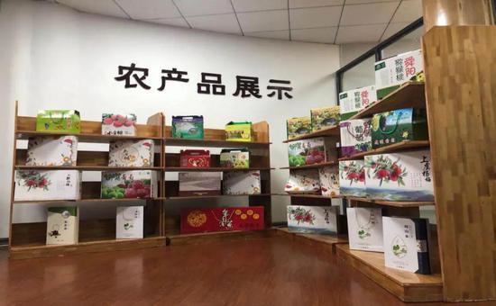 """""""四季仙果""""农产品展示"""