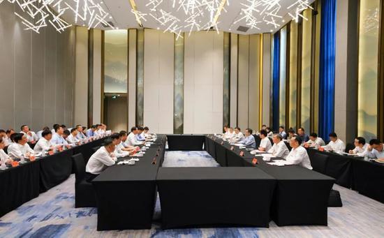 杭州晋城举行工作交流座谈会 开创两地发展新局面
