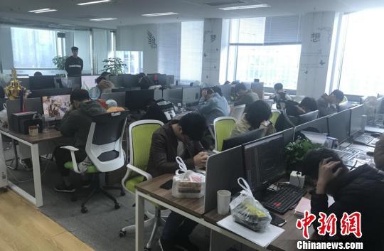 图为:抓捕现场。台州温岭警方供图