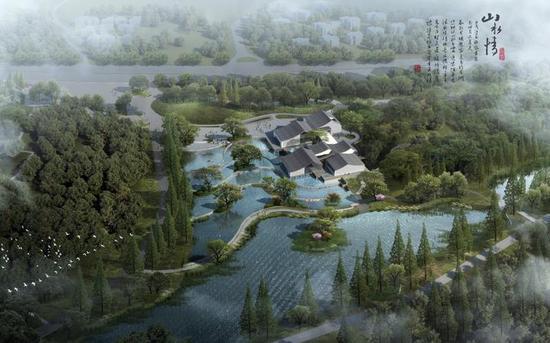临安青山湖环湖绿道二期效果图