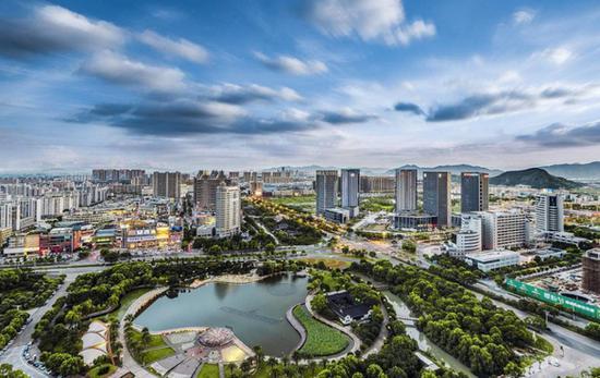 资料图:浙江台州风光 台州市委宣传部提供
