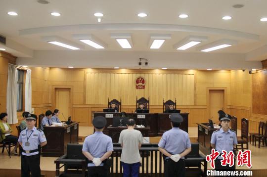 图为:浙江台州玉环22年前一起命案一审宣判 台州市中级人民法院供图