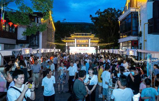 浙江吴兴探索夜经济赋能城市发展路径 丰富市民夜生活