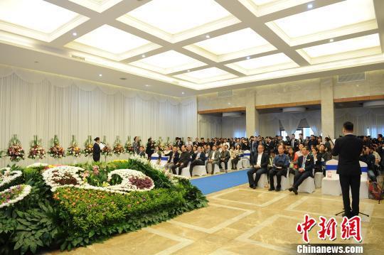 杭州殡仪馆举行的模拟告别会现场。 张茵 摄