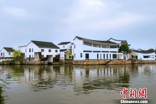 水街壹号文创园的江南美景。绍兴宣传部提供