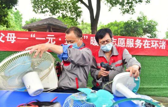 浙江吴兴暖心志愿服务进社区 开展多项便民服务活动