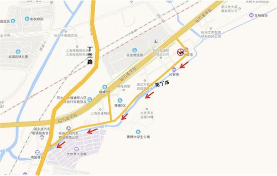 下周一起 杭州上城江干滨江区部分道路将变成单行道