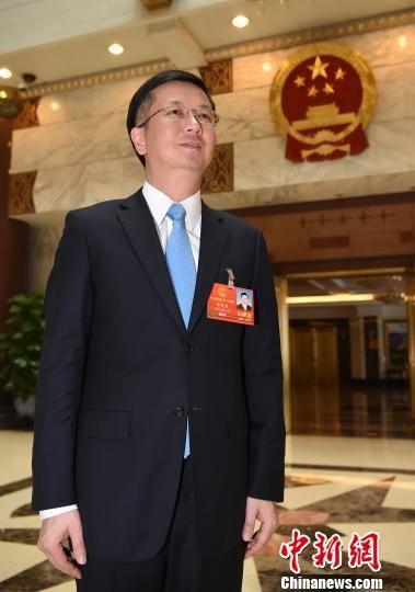 全国人大代表、浙江大学党委书记邹晓东。 侯宇 摄