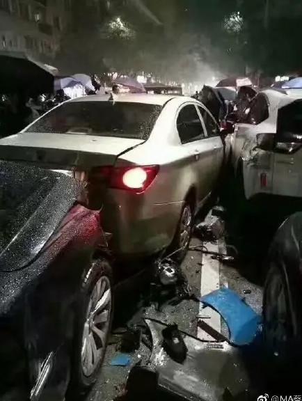 (当时的交通事故现场)