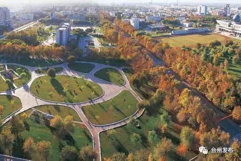 """目前,集聚区""""海绵城市""""规划设计已全面实施,40余项各类型海绵工程"""