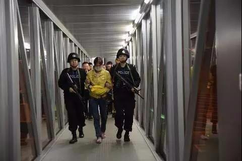 2017年52岁的陈碎园被押解回国。(图片来自网络)