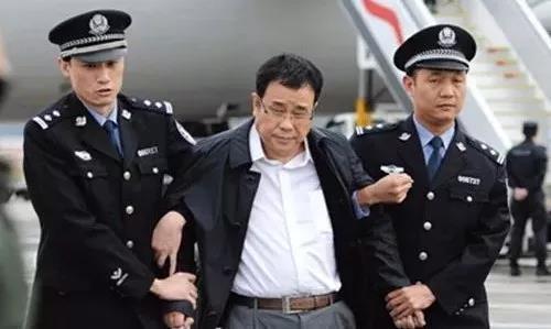 李华波被遣返回国时的照片。