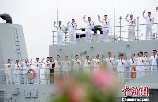 图为婚礼现场。 92118部队提供