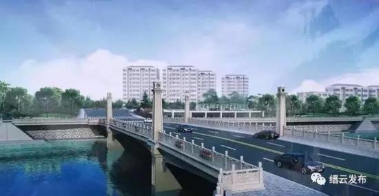 缙云县南塘桥及至330连接线工程