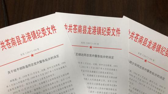 温州1居委会3名主职干部违规组织公款吃喝被追责