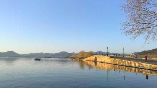 今日的西湖美景,拍友 江志清 摄