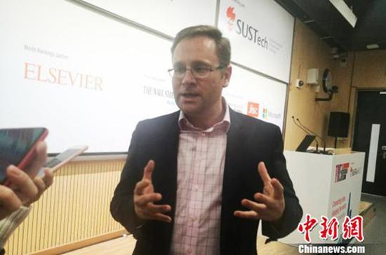 《泰晤士高等教育》全球排名主任编辑费尔·巴蒂。
