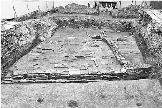 杭州临安区政府地下现古建遗存 第二阶段考古已启动