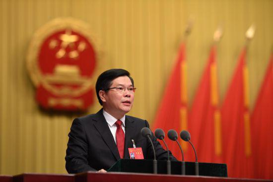4日,杭州市第十三届人民代表大会第三次会议在杭州开幕。 王远 摄